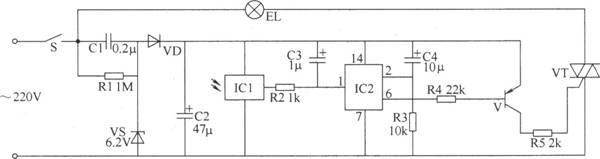 红外遥控开关电路-电路图集-公共广播技术网